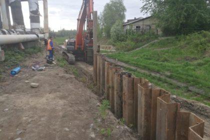 Погружение шпунт ларсена город Петрозаводск