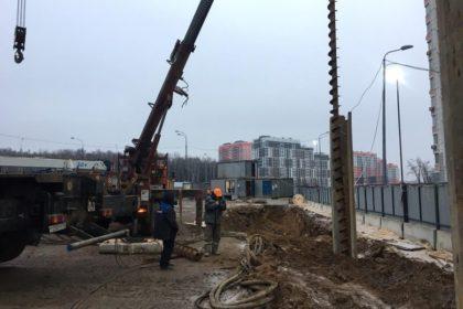 Погружение Шпунта Ларсена Аz 13-770 12 метров
