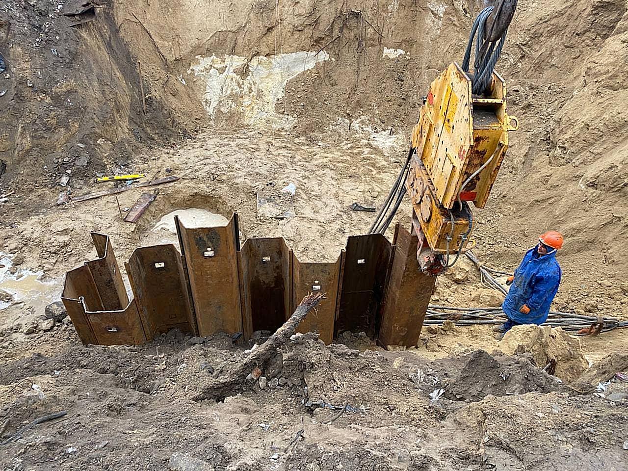 Реконструкция канализационного коллектора